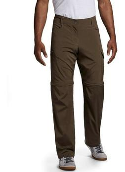 Men's Brown Columbia Convertable Cargo Pants