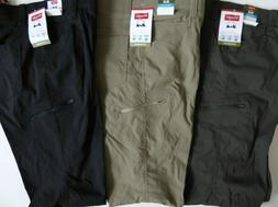 Wrangler Mens Cargo Pant Twill Belted Relaxed Fit 9 Pockets