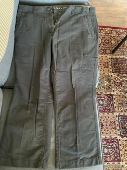 Dockers Mens Cargo Pants -  D3 Classic Fit Flat Front - 40x2