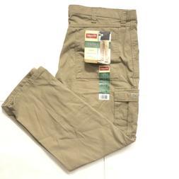 Wrangler Mens Cargo Pants New w/Tags 42x30 Tan