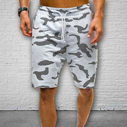 Mens Cargo Shorts Pants Casual Summer Beach Sport Gym Trouse
