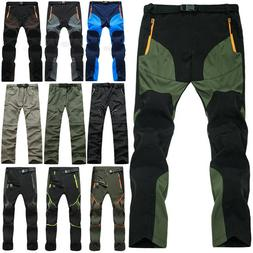 Mens Casual Long Pants Tactical Hiking Climbing Outdoor Comb