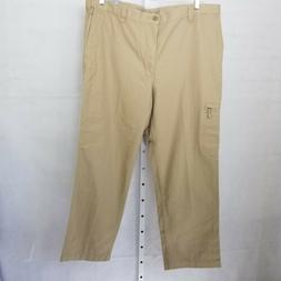 Dockers Mens Comfort Cargo Pants Size 40X30 Brown Khaki Clas