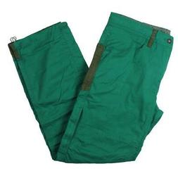 PrAna Mens Continuum Green Durable Colored Hiking Cargo Pant