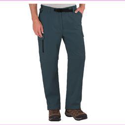 BC Clothing Mens Convertible Cargo Hiking Pants Zippered  Po