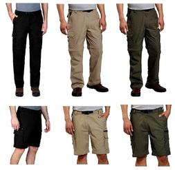 BC Clothing Mens Convertible Stretch Cargo Hiking Pants Shor