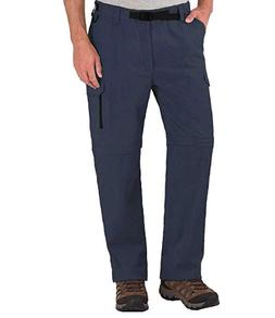 BC Clothing Men's Convertible Stretch Cargo Pants/Shorts V