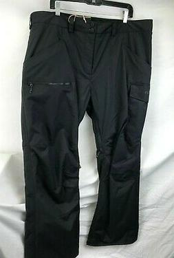 Burton Mens Covert Insulated Pants 131601 True Black Size 2X