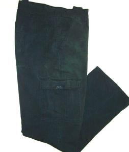 Wrangler Mens Legacy Cargo Pants Black 34 x 32 Relaxed Fit C