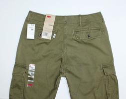 Mens LEVI'S Cargo 1 Olive Green Cargo Pants - Sz. 30 - Insea