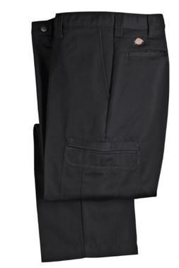 Dickies Mens LP337 Cotton Cargo Pant-BLACK-38x29
