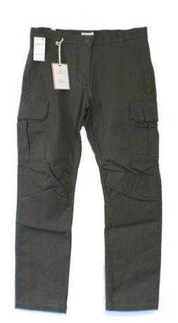 Dockers Mens Olive Cargo Pant - Size 33 X 32