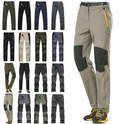 Mens Outdoor Hiking Sport Trousers Cargo Combat Climbing Fis