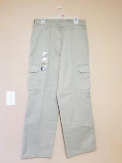 Dickies Men's Pants 32×32 Tan Khaki Cargo NWT Loose Fit S