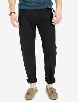 Unionbay Mens Pants Black Size 34x30 Survivor Cargo Button-F