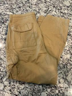 Unionbay Mens Pants Brown Size 38X30 Cargo Pants MEN BRAND N
