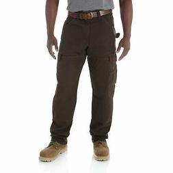 Wrangler Mens Pants Brown Size 46X32 Big & Tall Riggs Cargo
