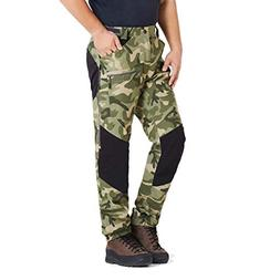 ZOOMHILL Mens Pro Hiking Stretch Pants Cargo Trouser Water-R