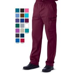 Landau Mens Scrubs Zipper Front Cargo Pants 8555 REGULAR TAL