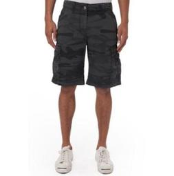 Unionbay Men's Survivor Cargo Shorts Black Camo Men Size 3