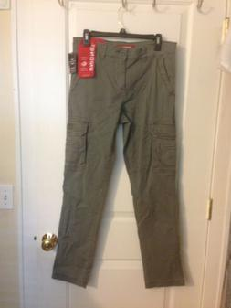 mens union bay cargo pants Flex Waist Straight Cut