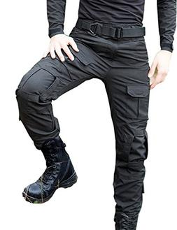 Yollmart Men's Military-Style Army Cargo Pants Outdoors Pant