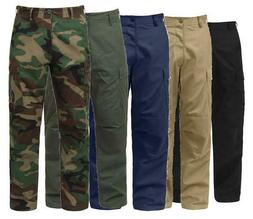 MILITARY BDU CARGO PANTS TACTICAL 6 POCKET EMT FATIGUE TROUS