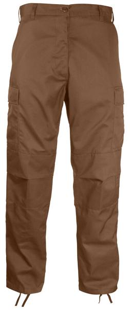 military style bdu pants cargo trousers brown rothco 8578