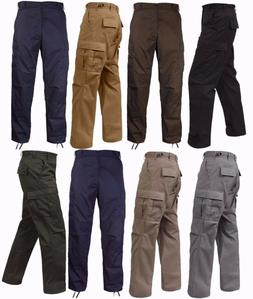 Rothco Military Tactical BDU Fatigue Pants - Solid Color - S