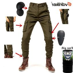 Motorcycle overalls Jeans Drop Resistance Slim Denim Cycling