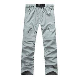 Muramba Clearance Men Outdoor Thin Detachable Quick Dry Wate
