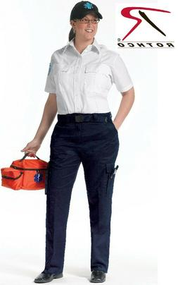 Navy Blue Women's 9 Pocket Tactical EMS Apparel EMS EMT Medi