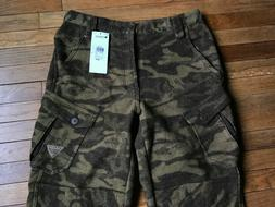 New $100 Mens Columbia PRG Wool Lined Camo Hunting Pants sz
