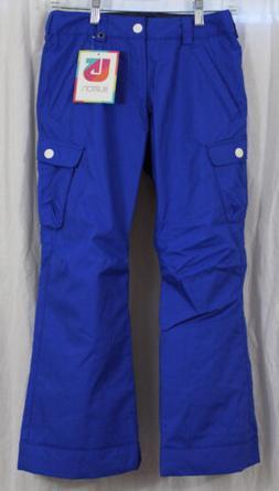 New 2014 Burton Girls Elite Cargo Snowboard Pants Medium Dej