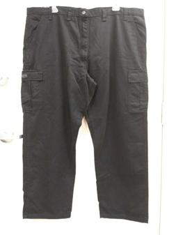 NEW AS IS Wrangler BIG MAN Cargo Pants Black 46X30