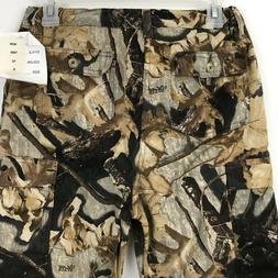 New Boys Cargo Pants Youth Sz XL Photo Stalk Camo Hunting Fi