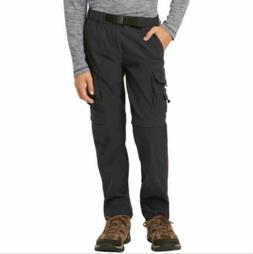NEW BOYS YOUTH UNIONBAY CONVERTIBLE Cargo Pants - Converts t