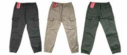 NEW Unionbay Boys Youth Jogger Cargo Pull-On Pants - VARIETY