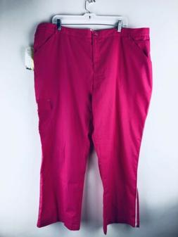 Barco Uniforms Metroscrubs NEW 3XL Cargo Pants Pink Fuschia