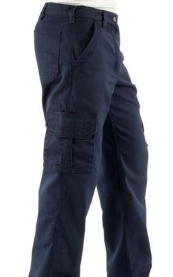 Sale NEW Carhartt Fire Resistant Cargo Work Pants  Navy Blue