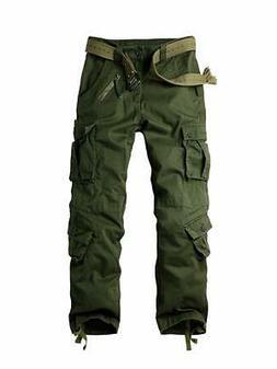 OCHENTA NEW Green Men Size 32X31 8 Pockets Military Combat C