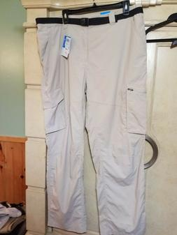 NEW COLUMBIA KESTREL TRAIL CARGO PANTS 38 X30 OMIN-WICK OMNI
