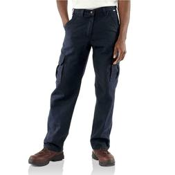 NEW!!  CARHARTT Men's  Dark Navy FR Cargo Pant   FRB240-DNY