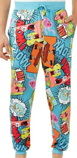 New men's Spongebob sleep pants men's sleep novelty pant Spo