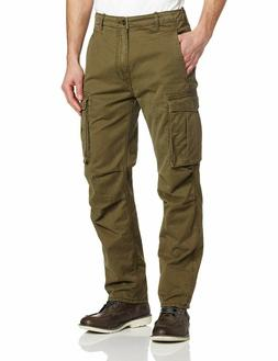 NEW MENS LEVIS RELAXED FIT ACE CARGO PANTS IVY GREEN 1246200