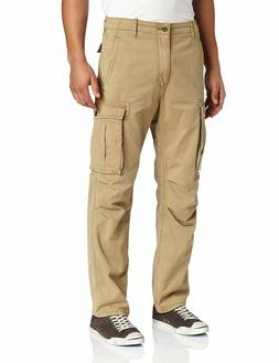 NEW MENS LEVIS RELAXED FIT ACE CARGO PANTS BRITISH KHAKI 124
