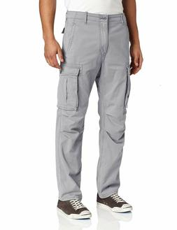 NEW MENS LEVIS RELAXED FIT ACE CARGO PANTS MONUMENT LIGHT GR