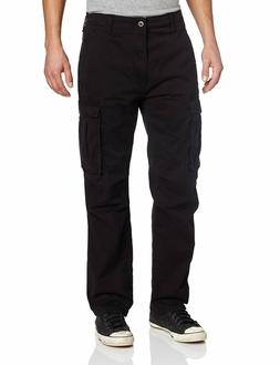 NEW MENS LEVIS RELAXED FIT ACE CARGO TWILL PANTS BLACK 12462