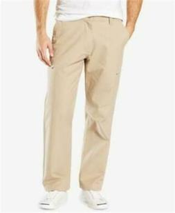 NEW MENS DOCKERS UTILITY CARGO KHAKI BIG AND TALL PANTS SIZE