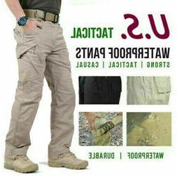 New Soldier Tactical Waterproof Trousers Men Cargo Pants Com